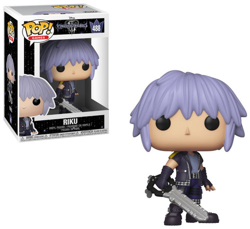 Funko Disney Kingdom Hearts III POP! Games Riku Vinyl Figure #488