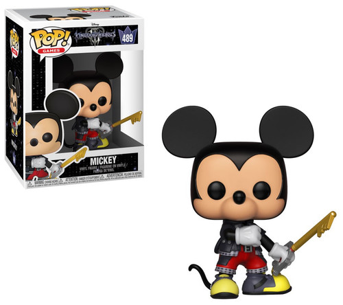 Funko Disney Kingdom Hearts III POP! Games Mickey Vinyl Figure #489