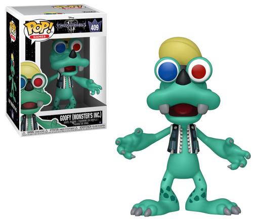 Funko Disney Kingdom Hearts III POP! Games Goofy (Monsters Inc.) Vinyl Figure #409