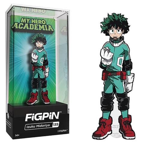 My Hero Academia FiGPiN Izuku Midoriya 3-Inch Collectible Pin