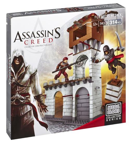 Mega Bloks Assassin's Creed Fortress Attack Set #94319 [Damaged Package]