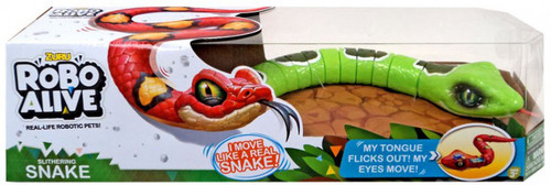 Robo Alive Slithering Snake Robotic Pet Figure [Green]