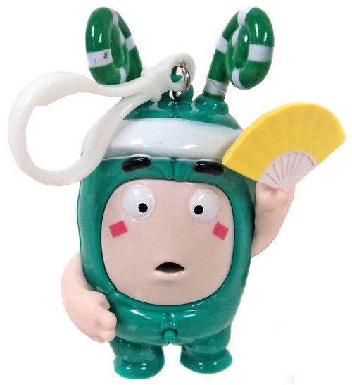 Oddbods Zee 4-Inch Backpack Clip [with Sound]