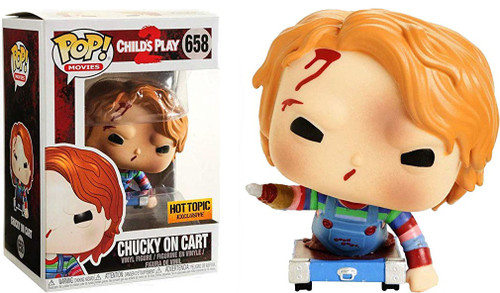 Funko Child's Play 2 POP! Movies Chucky on Cart Exclusive Vinyl Figure #658
