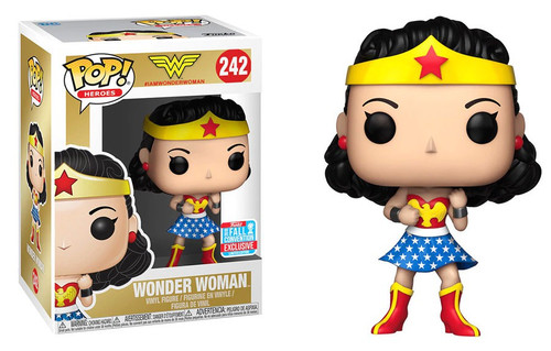 Funko DC POP! Movies Wonder Woman Exclusive Vinyl Figure #242 [Damaged Package]