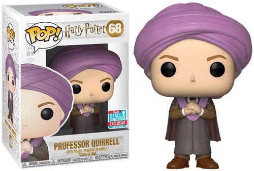 Funko Harry Potter POP! Movies Professor Quirrell Exclusive Vinyl Figure