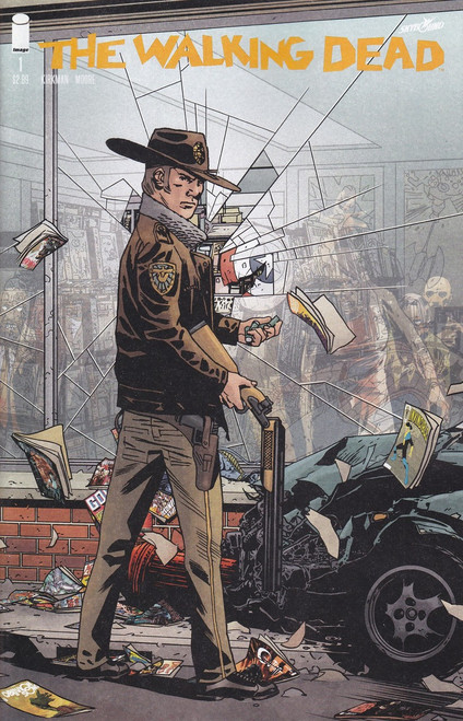 Image Comics The Walking Dead #1 Comic Book [Walking Dead Day Cover]
