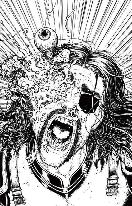 Image Comics The Walking Dead #48 Comic Book [Black & White Virgin Walking Dead Day Cover]
