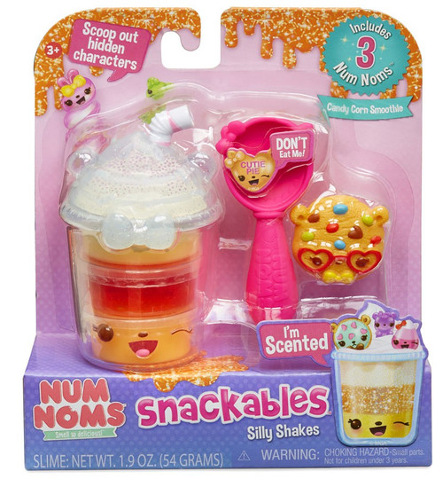 Num Noms Snackables Silly Shakes Candy Corn Smoothie Scented Pack