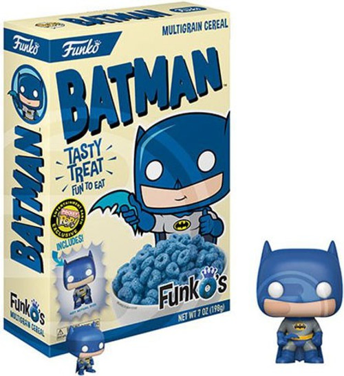 FunkO's DC Batman Exclusive 7 Oz. Breakfast Cereal [Damaged Package]