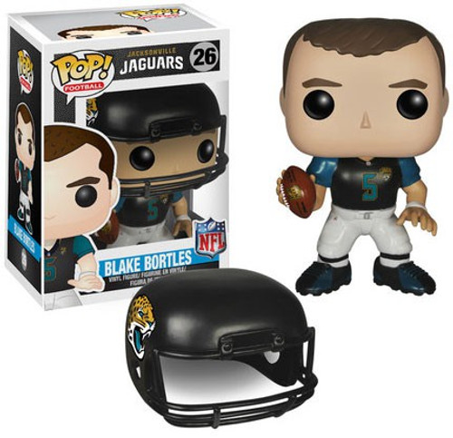 Funko NFL Jacksonville Jaguars POP! Sports Football Blake Bortles Vinyl Figure #26 [Black Jersey, Damaged Package]