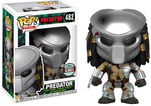 Funko POP! Movies Predator Exclusive Vinyl Figure #482 [Masked, Specialty Series, Loose]
