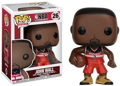Funko NBA POP! Sports Basketball John Wall Vinyl Figure #26 [Loose]