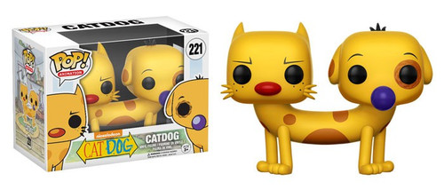 Funko Nickelodeon Cat Dog POP! TV Catdog Vinyl Figure #221 [Loose]