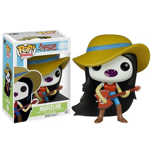 Funko Adventure Time POP! TV Marceline with Guitar Vinyl Figure #301 [Damaged Package]