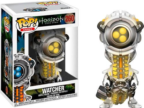 Funko Horizon Zero Dawn POP! Video Games Watcher Exclusive Vinyl Figure [Glow-in-the-Dark, Damaged Package]