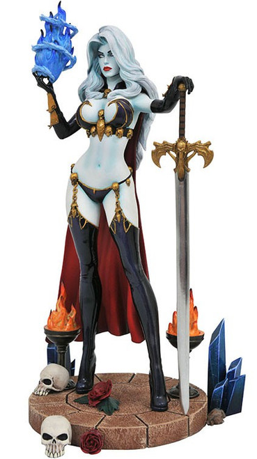 Femme Fatales Lady Death 9-Inch Collectible PVC Statue