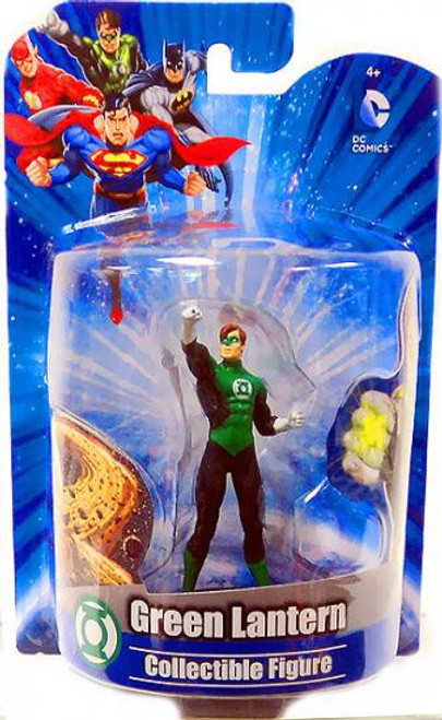 DC Green Lantern 4-Inch Collectible Figure [Damaged Package]