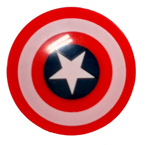 LEGO Marvel Super Heroes Shields Captain America's Shield [Red Loose]