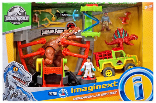 Fisher Price Jurassic World Imaginext Research Lab Exclusive Gift Set