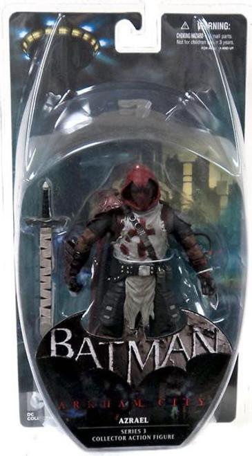 Batman Arkham City Series 3 Azrael Action Figure [Damaged Package, Mint Figures]