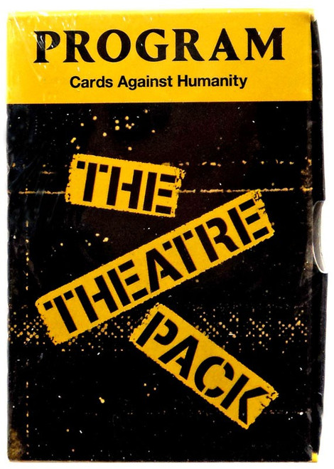 Cards Against Humanity The Theatre Pack Card Game Expansion