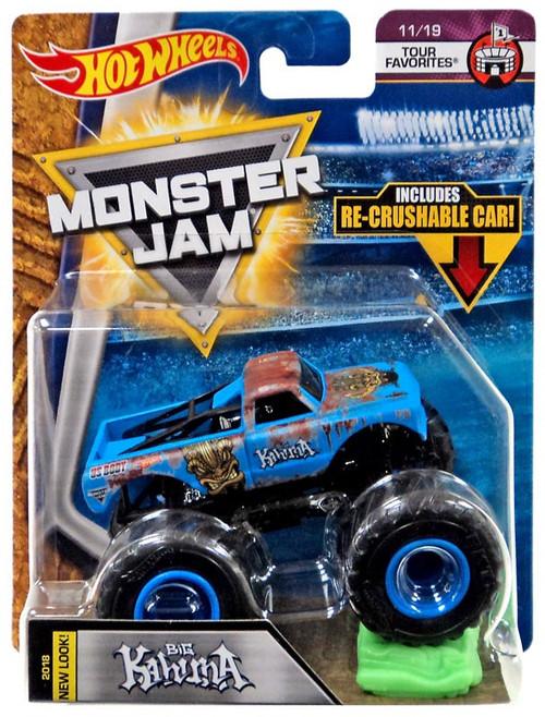 Hot Wheels Monster Jam Big Kahuna Die-Cast Car #11/19 [Tour Favorites]