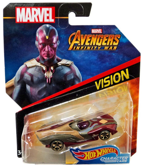 Hot Wheels Avengers Infinity War Character Cars Vision Die-Cast Car