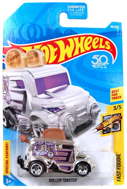 Hot Wheels Fast Foodie Roller Toaster Die-Cast Car FJX82 [3/5]