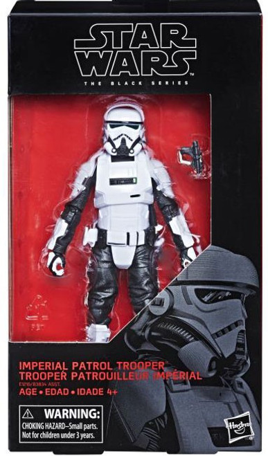 Solo A Star Wars Story Black Series Imperial Patrol Trooper Action Figure
