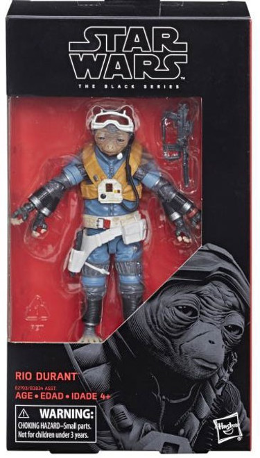 Solo A Star Wars Story Black Series Rio Durant Action Figure