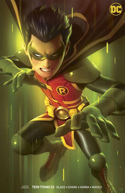 DC Teen Titans #23 Comic Book [Alex Garner Variant]