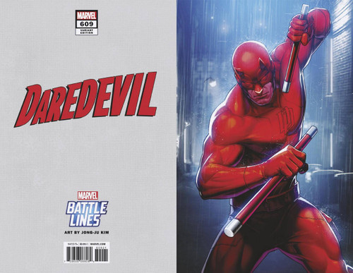 Marvel Comics Daredevil #609 Comic Book [Battle Lines Variant]