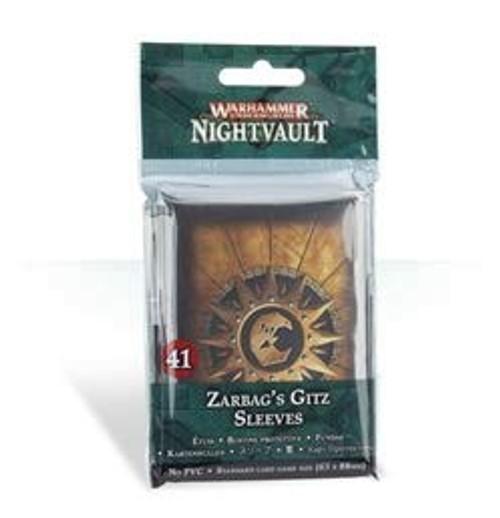 Warhammer Underworlds: Nightvault Zarbag's Gitz Card Sleeves [41 Sleeves]