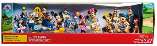 Disney Junior Mickey Mouse & Friends Exclusive 22-Piece PVC Mega Figurine Playset