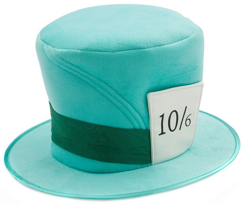 Disney Alice in Wonderland The Mad Hatter Exclusive Costume Hat