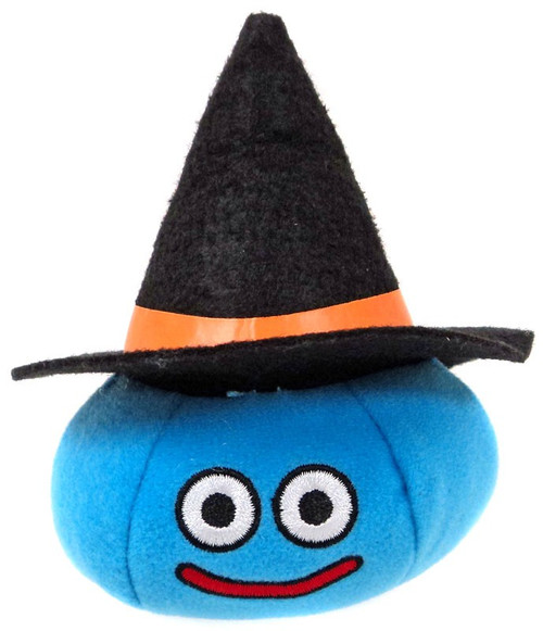 Dragon Quest Slime in Witch's Hat 2.7-Inch Plush Keychains