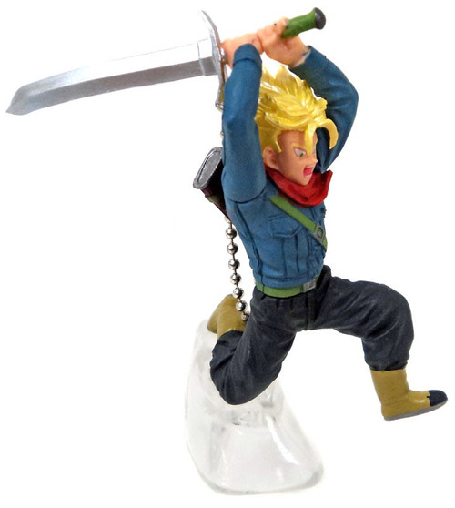 Dragon Ball Super Battle Figure Series 01 Super Saiyan Future Trunks Buildable Figure [Loose]