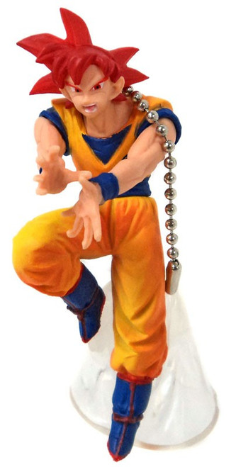 Dragon Ball Super Battle Figure Series 01 Super Saiyan God Son Goku Buildable Figure [Loose]