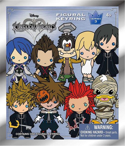 Disney 3D Figural Keyring Kingdom Hearts Series 3 Mystery Pack [1 RANDOM Figure]