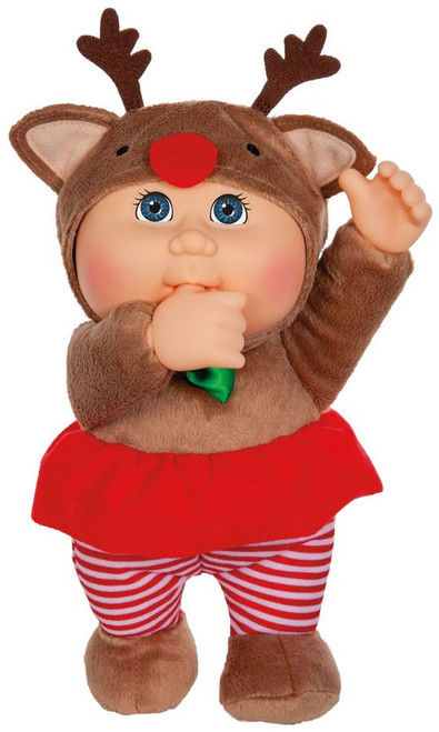 Cabbage Patch Kids Cuties Holiday Helpers Everly Reindeer 9-Inch Plush #71