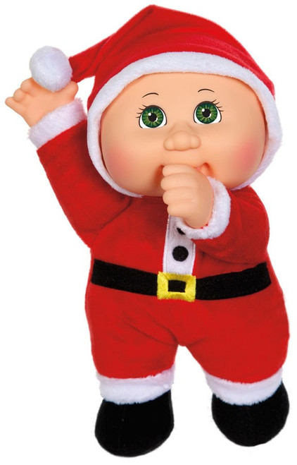 Cabbage Patch Kids Cuties Holiday Helpers Nicholas Santa 9-Inch Plush #69