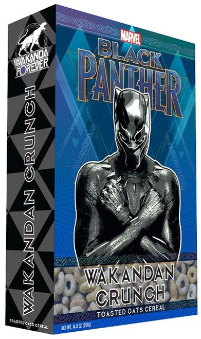 Marvel Black Panther Wakanda Crunch Exclusive Breakfast Cereal