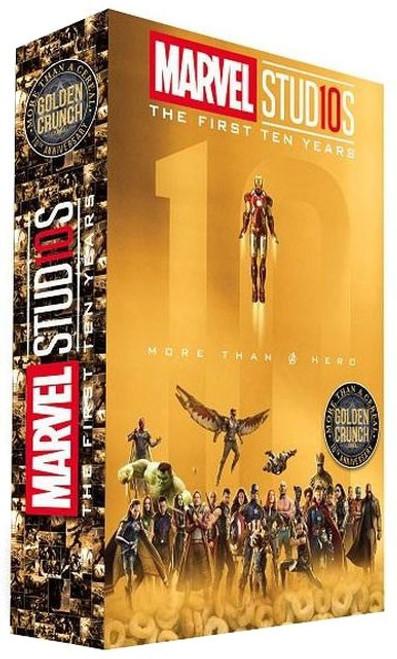 Marvel Studios The First Ten Years Golden Crunch Exclusive Breakfast Cereal