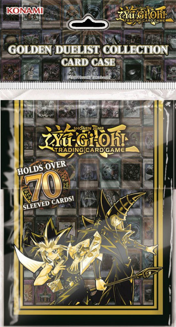 YuGiOh Trading Card Game Card Supplies Golden Duelist Deck Box