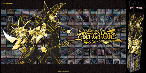 YuGiOh Trading Card Game Card Supplies Golden Duelist Play Mat