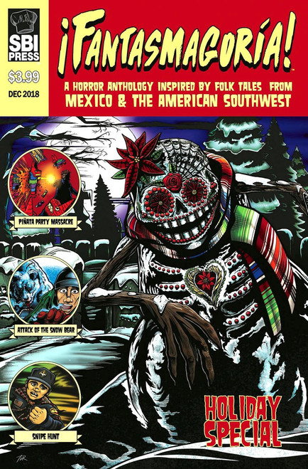 Starburns Industries Press Fantasmagoria Holliday Special 2018 Comic Book