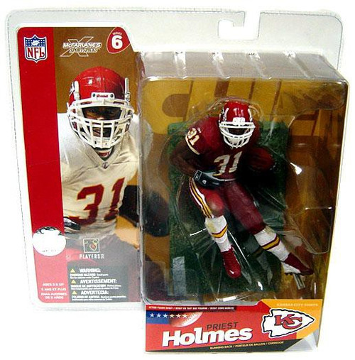 McFarlane Toys NFL Kansas City Chiefs Sports Picks Series 6 Priest Holmes Action Figure [Red Jersey Variant]