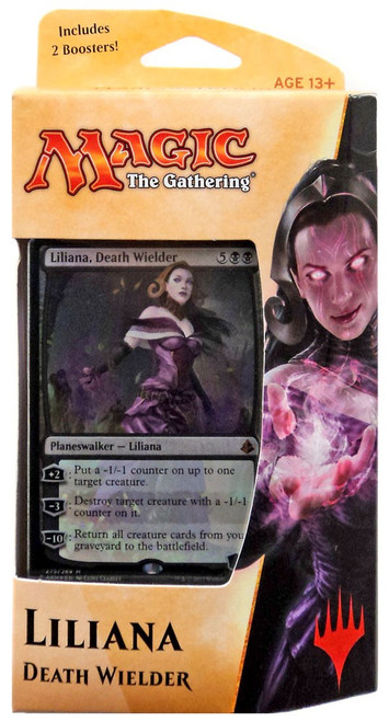 MtG Trading Card Game Amonkhet Liliana Planeswalker Deck [Comes with 2 Boosters!]