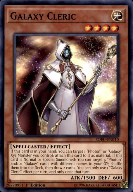 YuGiOh Soul Fusion Common Galaxy Cleric SOFU-EN010